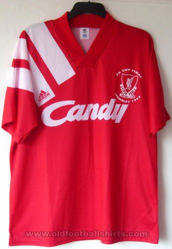 Liverpool Home football shirt 1991 - 1992