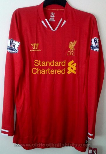 Liverpool Local Camiseta de Fútbol 2013 - 2014