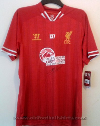 Liverpool Special football shirt 2013 - 2014