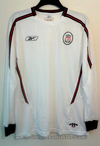 Liverpool Away football shirt 2003 - 2005