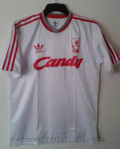 Liverpool Retro Replicas football shirt 1989 - 1991