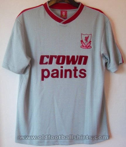 Liverpool Retro Replicas football shirt 1987 - 1988