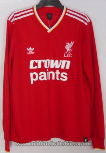 Liverpool Retro Replicas חולצת כדורגל 1985 - 1987
