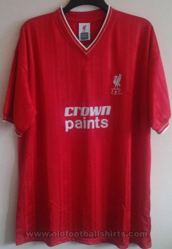 Liverpool Retro Replicas football shirt 1985 - 1987