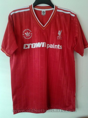 Liverpool Retro Replicas חולצת כדורגל 1985 - 1986