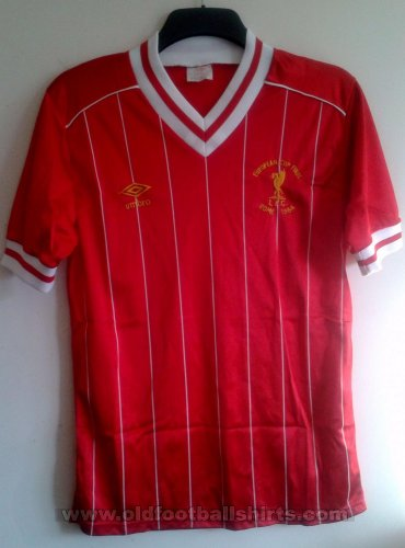 Liverpool Cup Shirt football shirt 1984