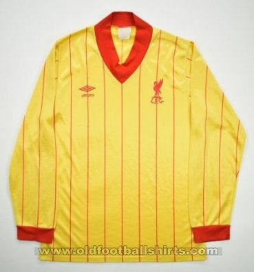 Liverpool Away football shirt 1981 - 1982