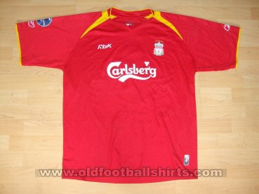 Liverpool Cup Shirt Maillot de foot 2004 - 2005