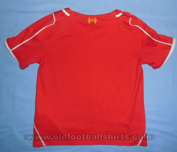 Liverpool Home Fußball-Trikots 2014 - 2015