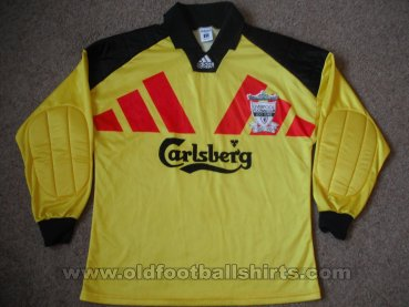 Liverpool Goalkeeper football shirt 1992 - 1993
