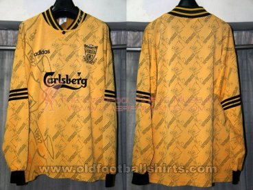 Liverpool Cup Shirt football shirt 1995 - 1996