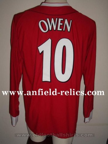 Liverpool Special football shirt 2002 - 2004