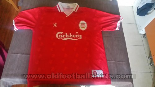 Liverpool Retro Replicas football shirt 1996 - 1998
