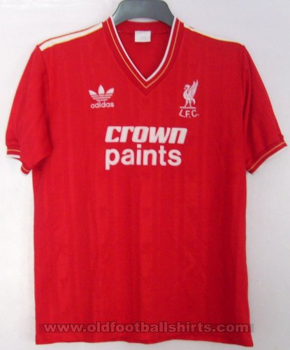 Liverpool Home football shirt 1986 - 1987