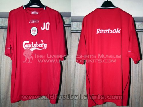Liverpool Training/Leisure football shirt 2004 - 2005