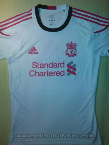 Liverpool Training/Leisure football shirt 2011 - 2012