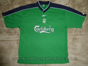 Liverpool Training/Leisure football shirt 1999 - 2001