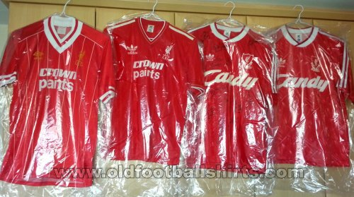 Liverpool Home football shirt 1982 - 1990