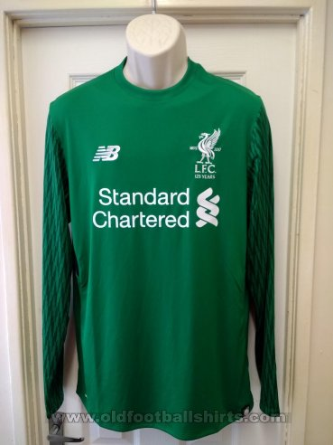 Liverpool Goalkeeper football shirt 2017 - 2018