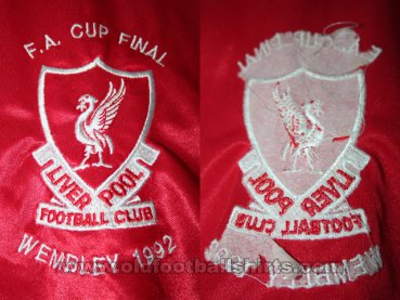 Liverpool Special football shirt 1992