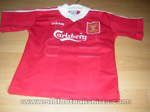 Liverpool Home football shirt 1995 - 1996