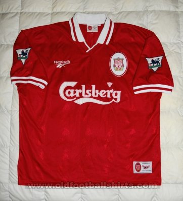 Liverpool Local Camiseta de Fútbol 1996 - 1998