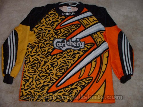 Liverpool Goalkeeper football shirt 1995 - 1997