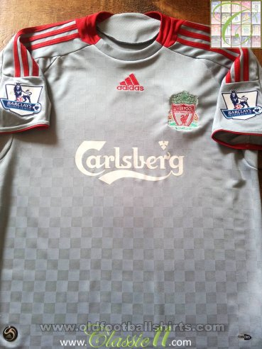 Liverpool Away football shirt 2008 - 2009