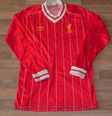 Liverpool Home football shirt 1982 - 1985