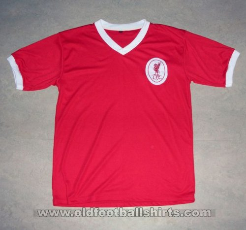Liverpool Retro Replicas football shirt 1955 - 1962