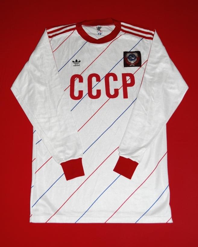142e6340f CCCP   USSR Away חולצת כדורגל 1985 - 1987.
