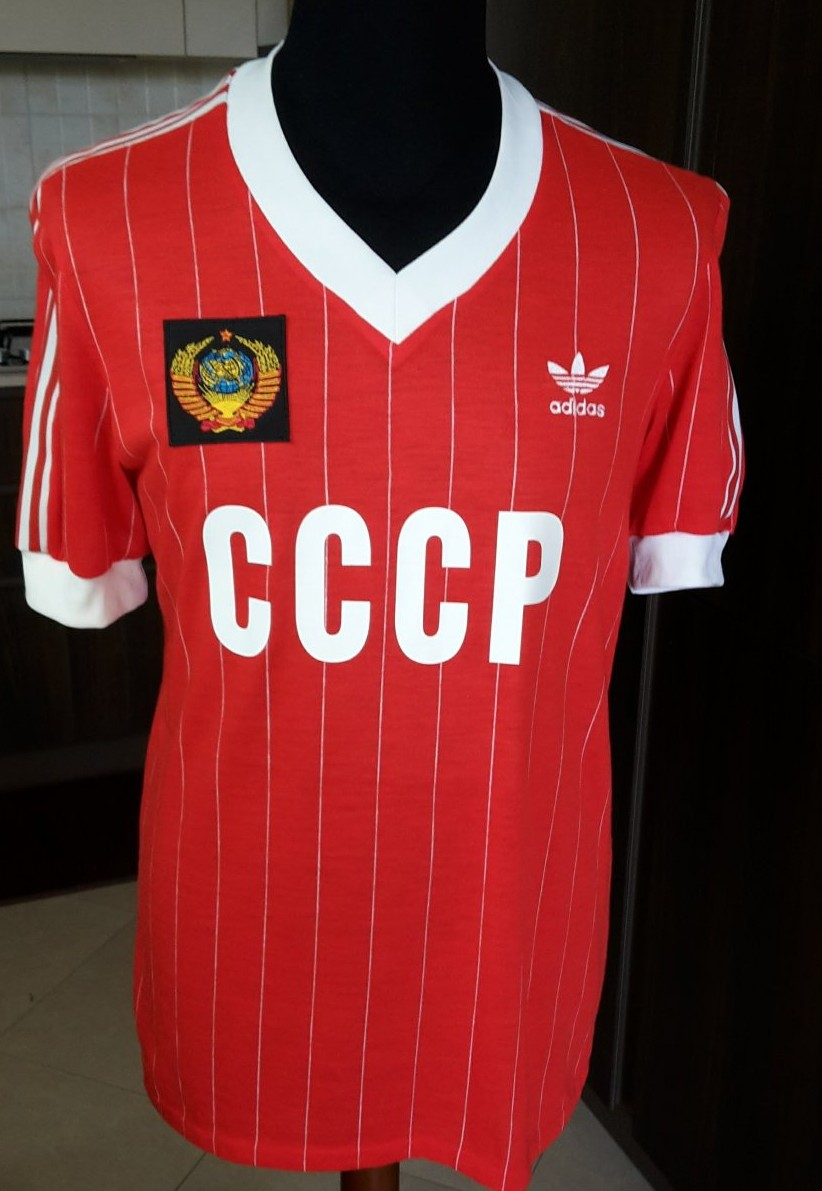 b9a46b7d96c CCCP / USSR Home camisa de futebol 1982 - 1984.