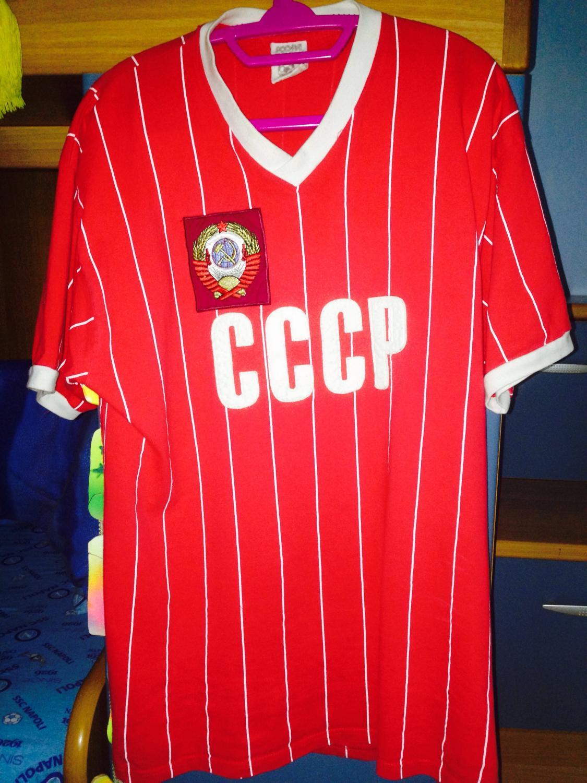 8712232c61d CCCP / USSR Home maglia di calcio 1984 - 1985.