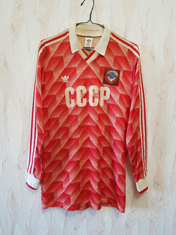 CCCP   USSR Home maglia di calcio 1988 - 1989. 7b5396818