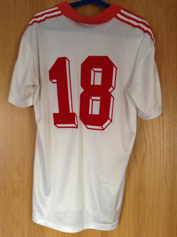 CCCP Russia USSR Jersey Shirt Trikot Worn Jacket match