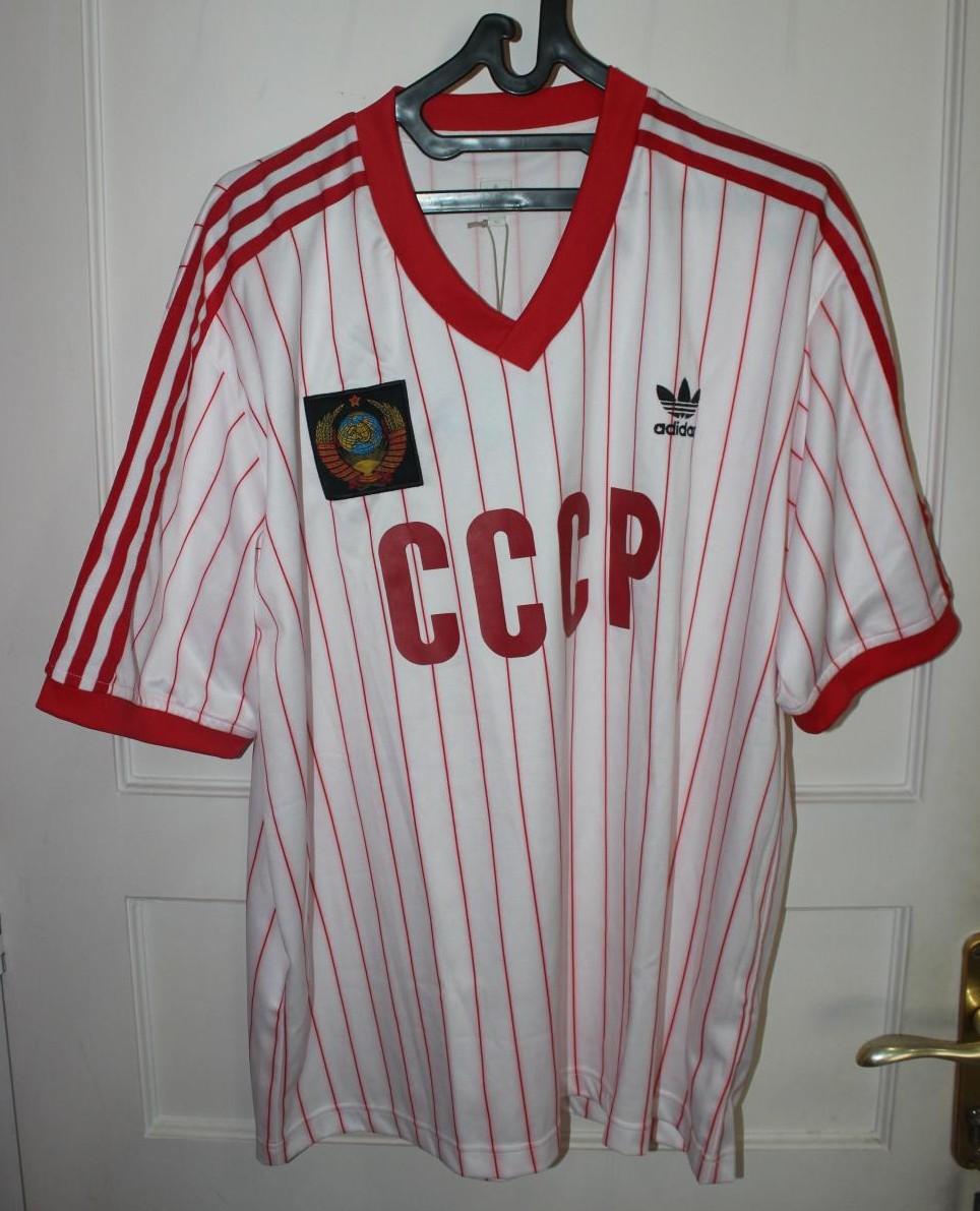cadeee85db3 CCCP / USSR Retro Replicas maglia di calcio 1982 - 1984.