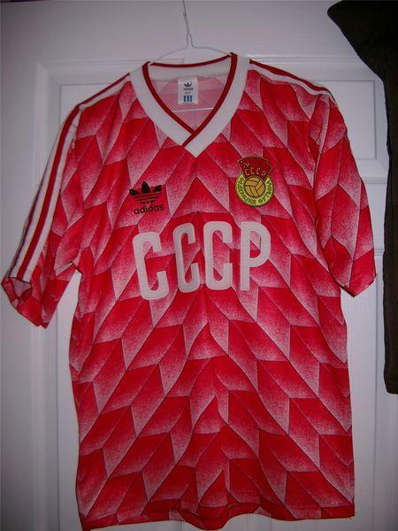sports shoes cb4a6 33410 CCCP / USSR Home futbol forması 1988.