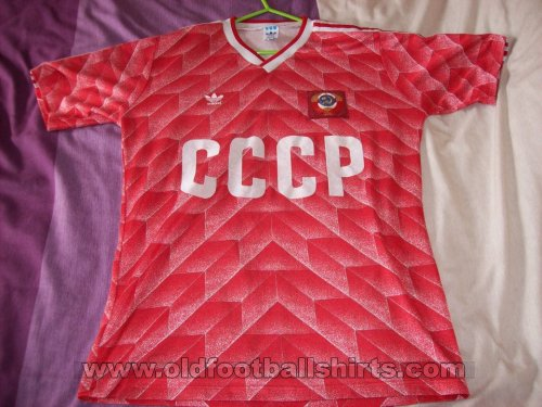 0f9954d29 CCCP   USSR Home maglia di calcio 1987 - 1988.