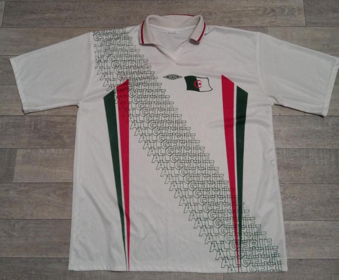 Algeria Home Maillot De Foot 1996 1998