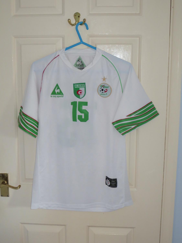 Algeria Home Maillot De Foot 2008 2009