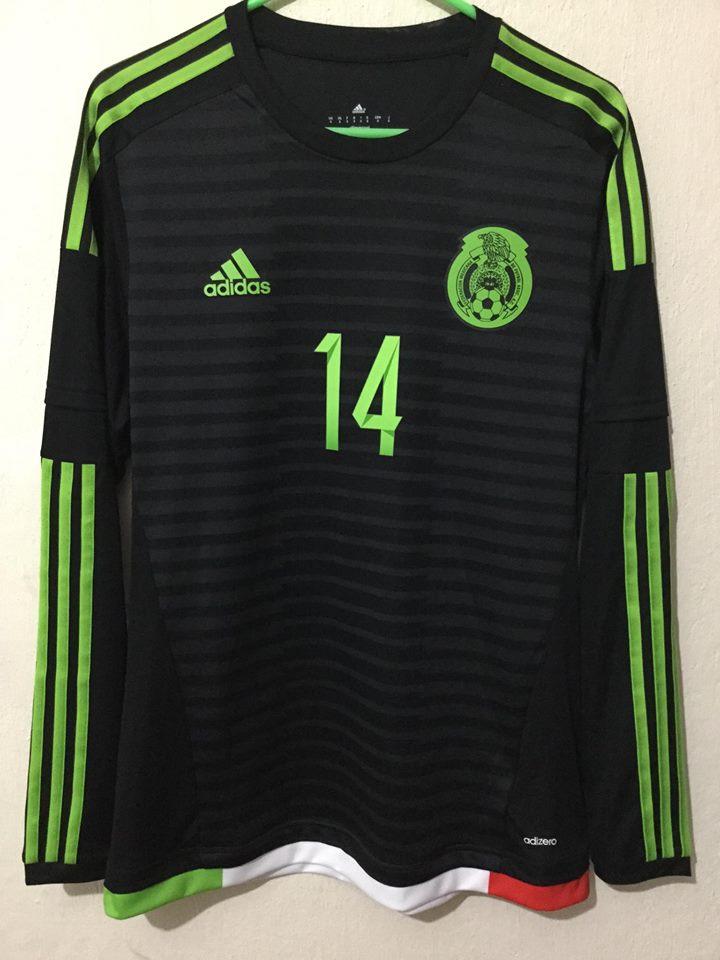 Mexico Home football shirt 2015 - 2016.