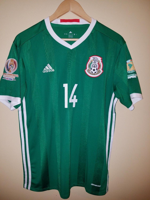 mexico home football shirt 2016 2018