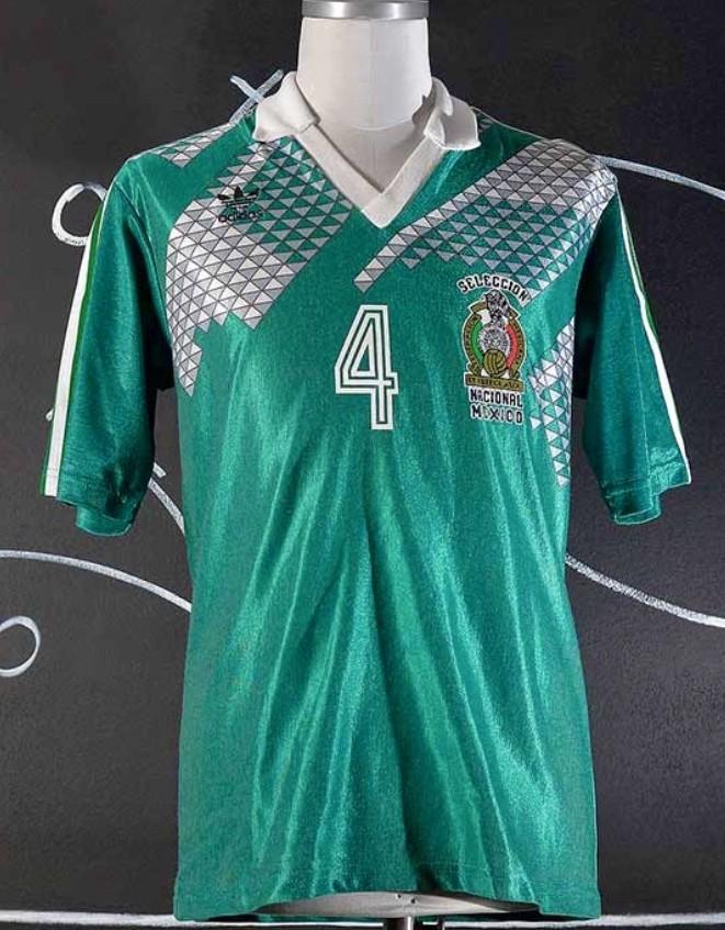 490978f7d42 Mexico Cup Shirt camisa de futebol 1990.