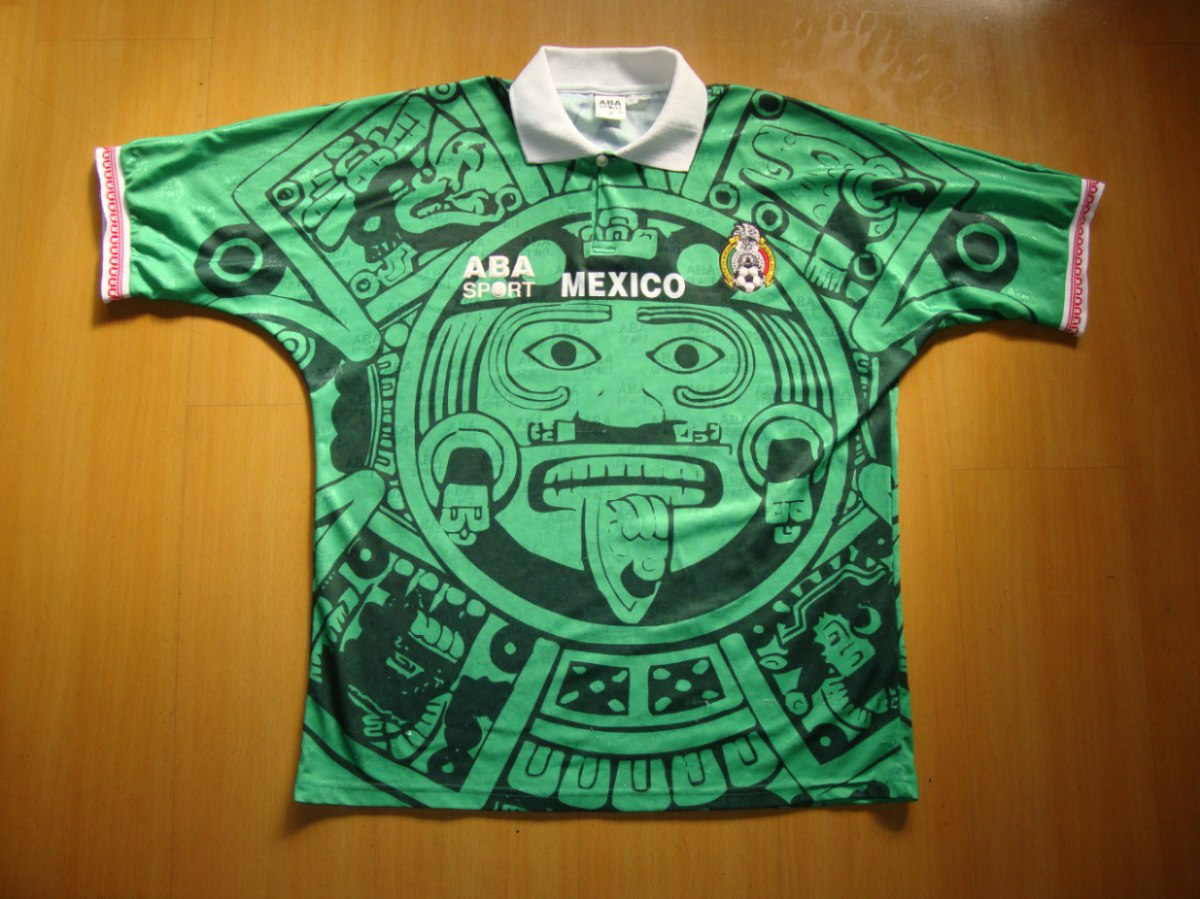 Mexico domicile maillot de foot 1996 1998 ajout 2013 for Classic house 1998