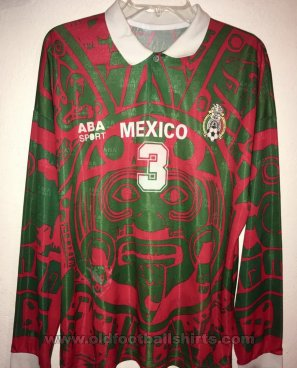 Mexico Third voetbalshirt  1997