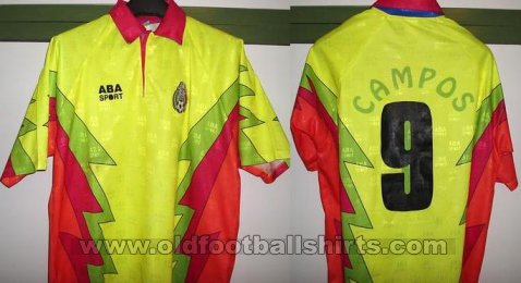 Mexico Goalkeeper football shirt 1995