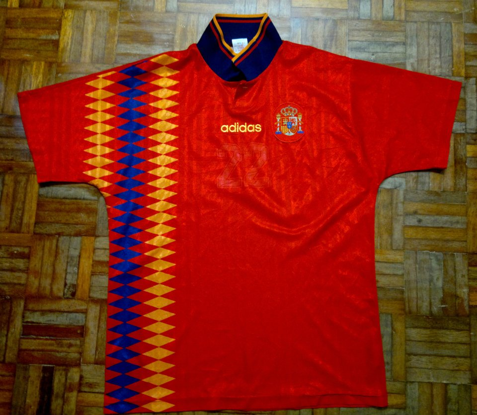La Furia Roja are also throwing back to the past ... a8bdafbab