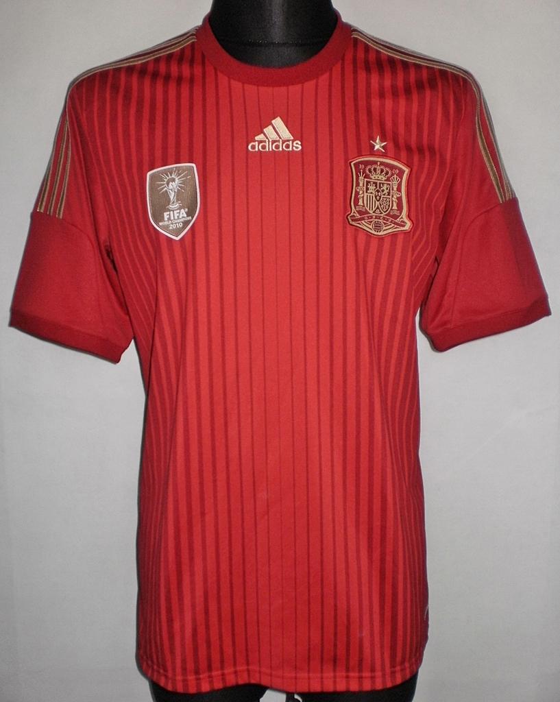 Spain home football shirt 2014 2015 added on 2017 04 13 for Spain polo shirt 2014
