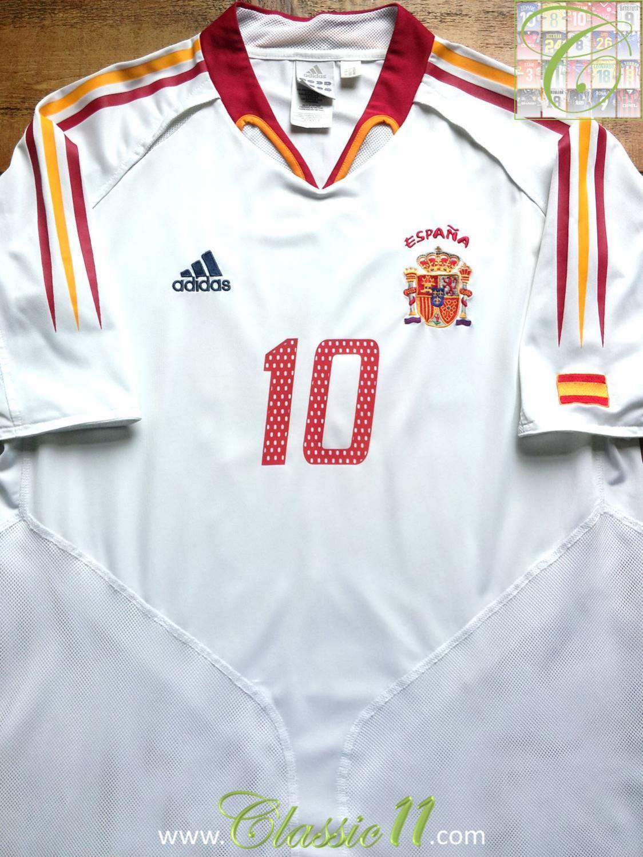 776cb5e6599 Spain Away Maillot de foot 2004 - 2006.