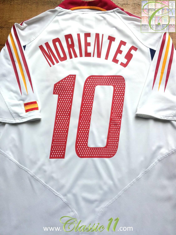 Spain Away football shirt 2004 - 2006.